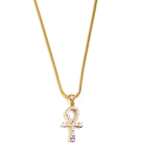 Mini Ankh - 18k Gold Plated - GOLDENGILT