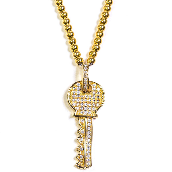 Key Pendant - GOLDENGILT