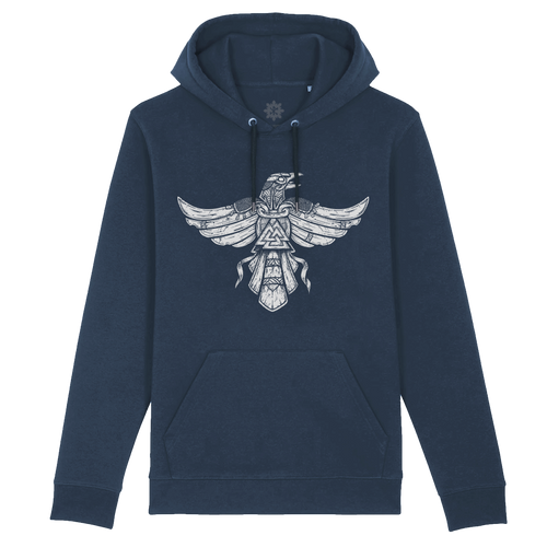 Huginn, herald of the 9 worlds - hoodie