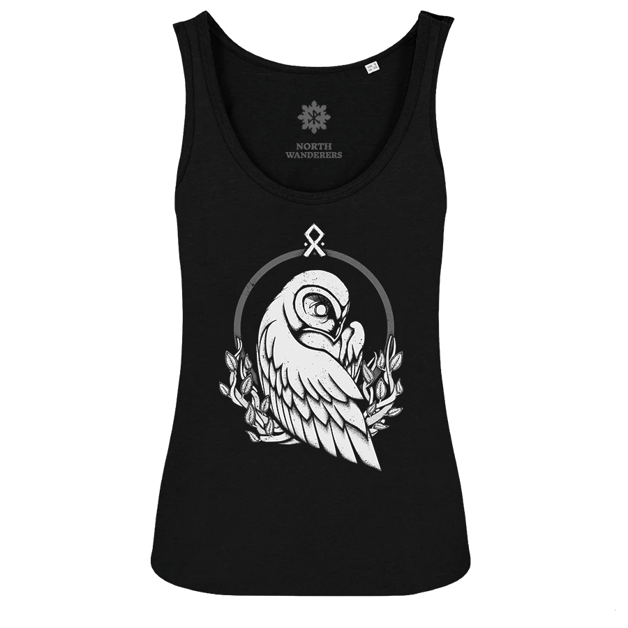 The Guiding Owl - W tank top
