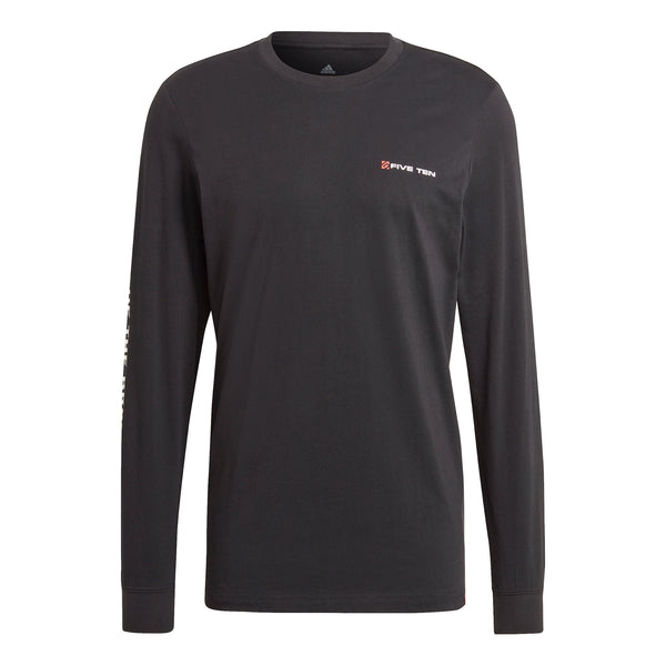 adidas Five Ten GFX Long Sleeve Tee in Black (GJ8431)