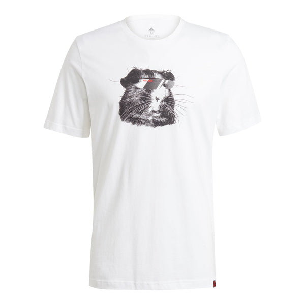 adidas Five Ten Glory Logo Short Sleeve Tee in White (GM4586)