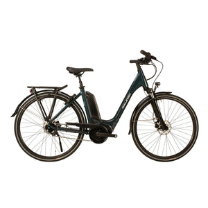 Raleigh Motus Grand Tour Low Step Hub Electric Bike (2020) in Blue