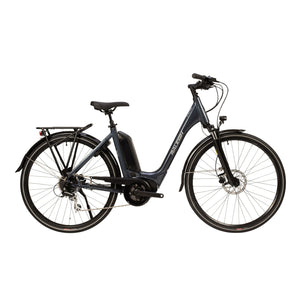 Raleigh Motus Tour Low Step Electric Bike (2020) in Grey