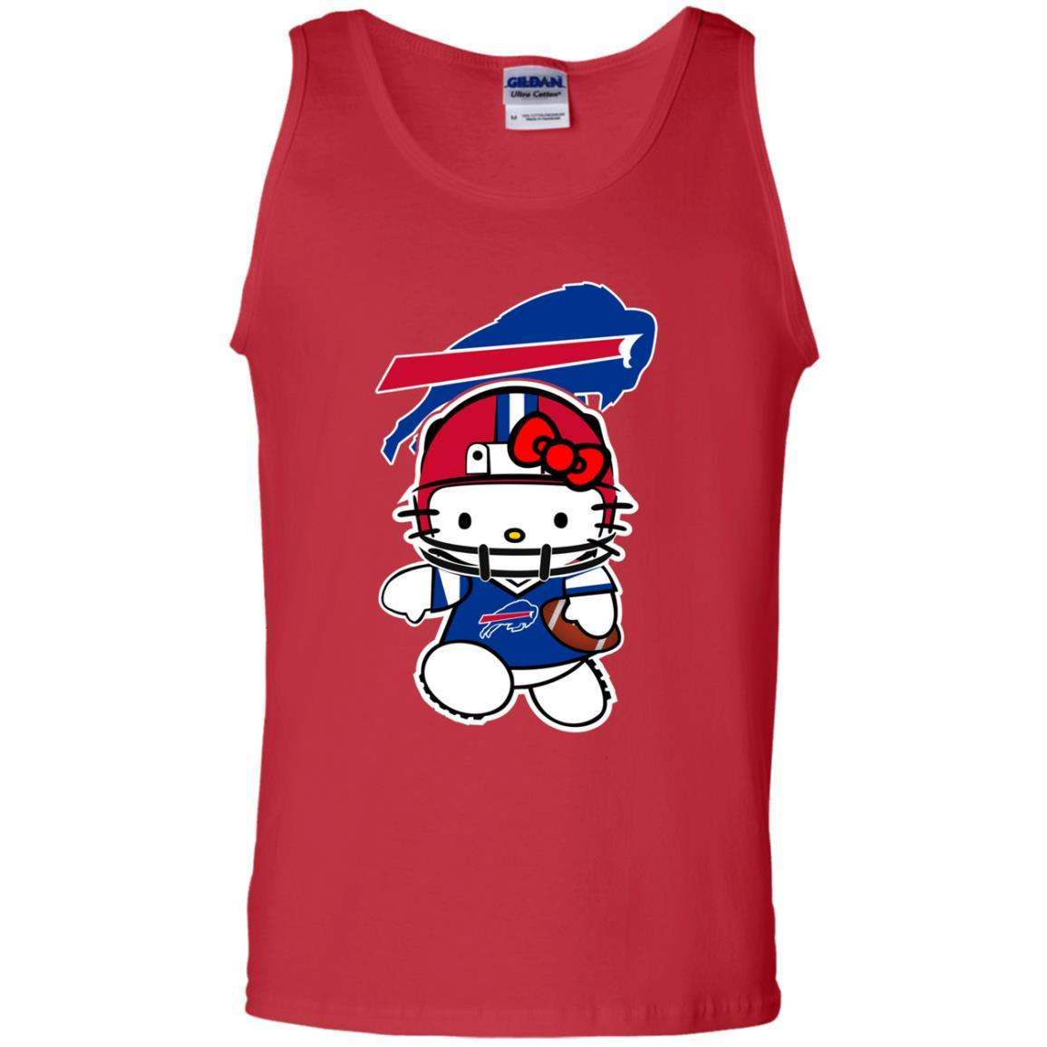 check out this awesome hello kitty love buffalo bills football gift tank top onepriceapparel. Black Bedroom Furniture Sets. Home Design Ideas