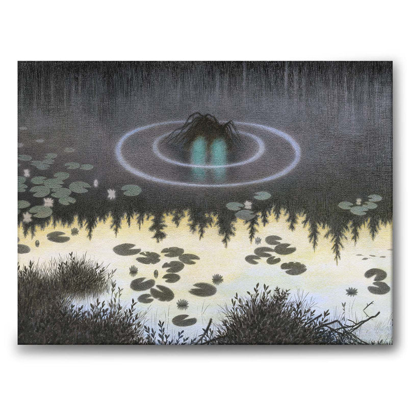 The Water Sprite - Canvas