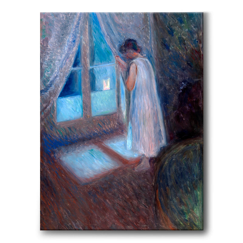 The Girl by the Window - Canvas