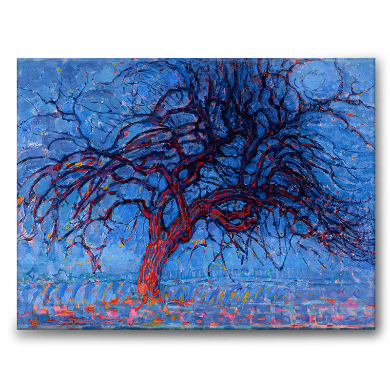 The Red Tree - Canvas