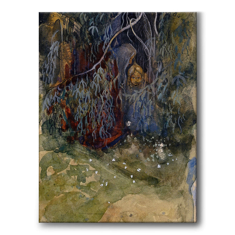 In the Forest - Canvas