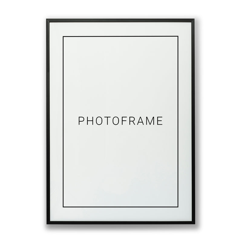 Black Picture Frame in Metal