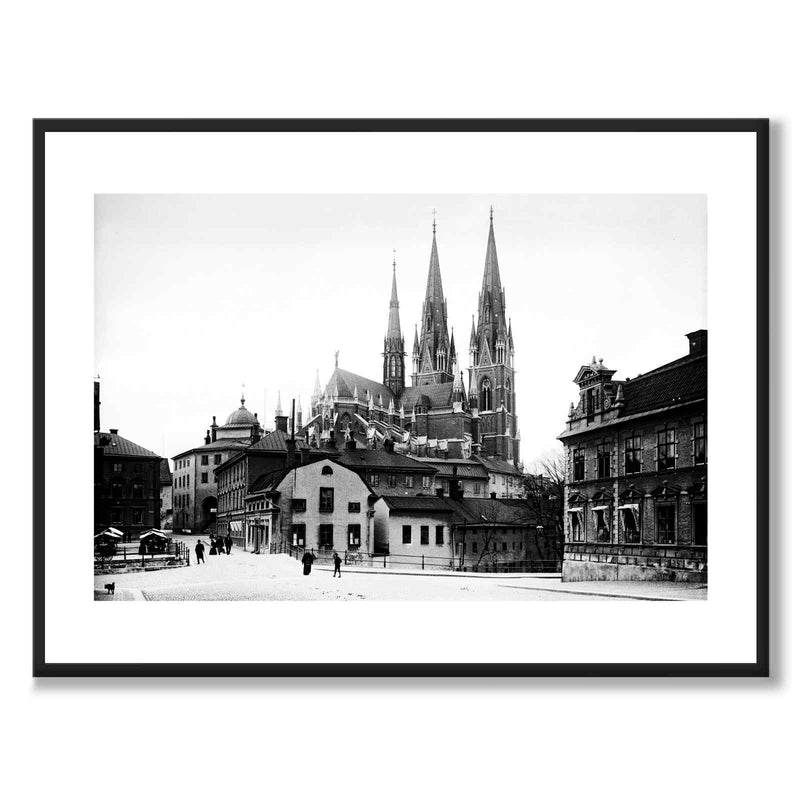 Uppsala Cathedral 1901
