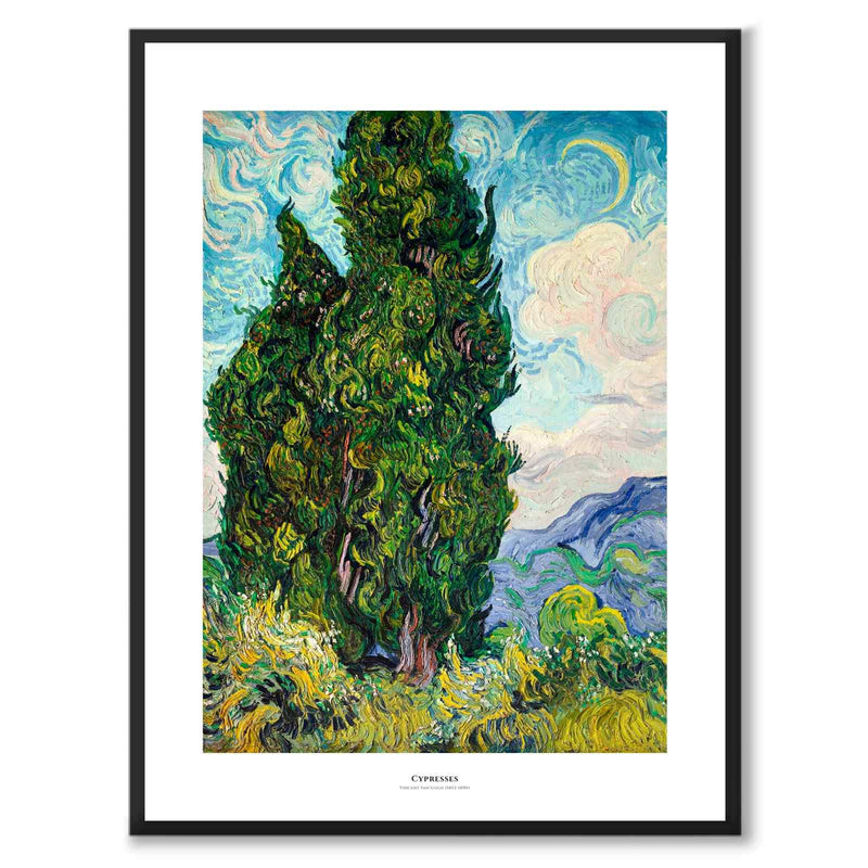 Cypresses - Poster