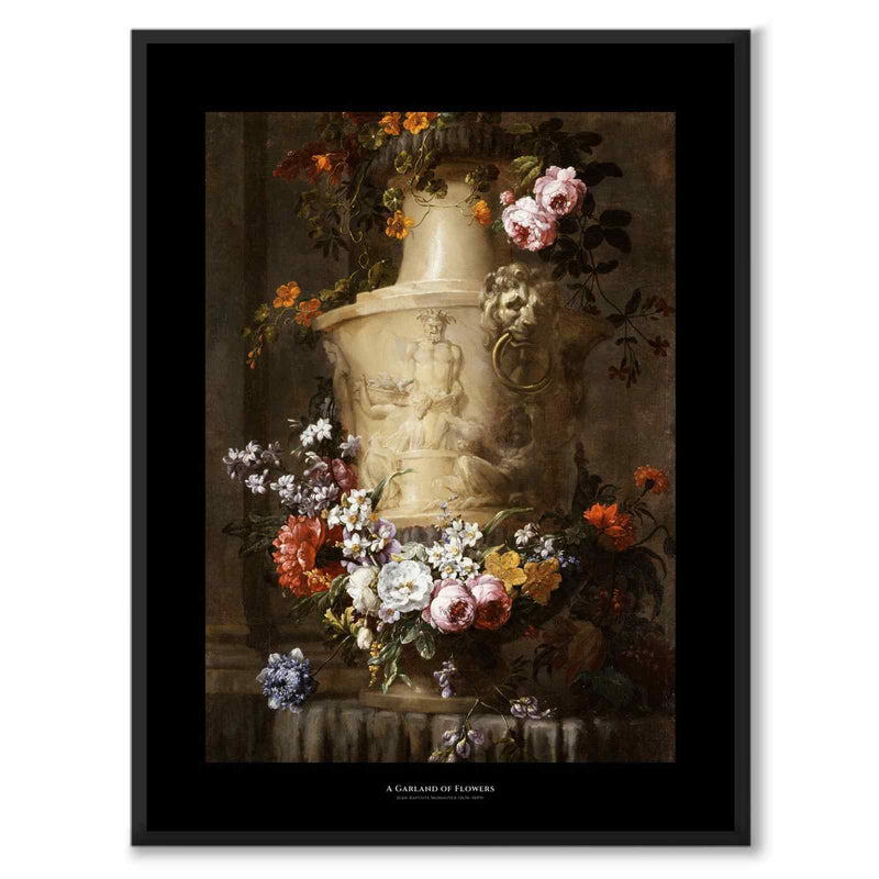 Black Collection - A Garland of Flowers
