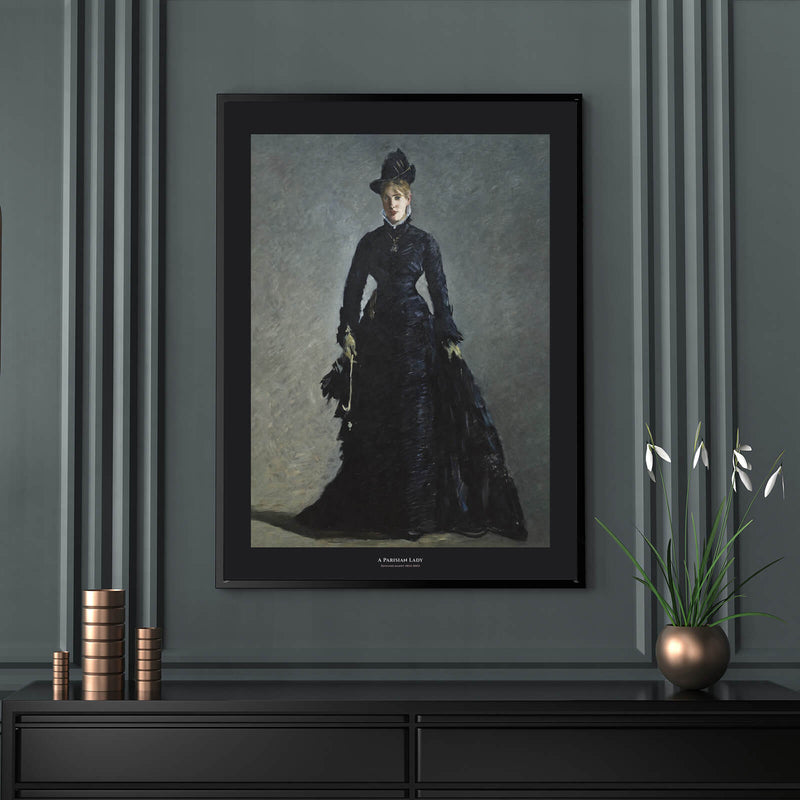 Black Collection - A Parisian Lady - Historly AB