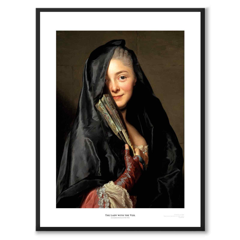 The Lady With The Veil