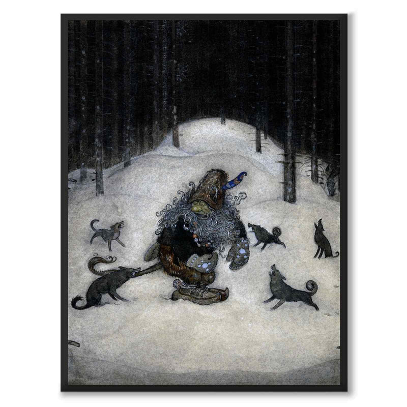 Troll and Wolves - Poster