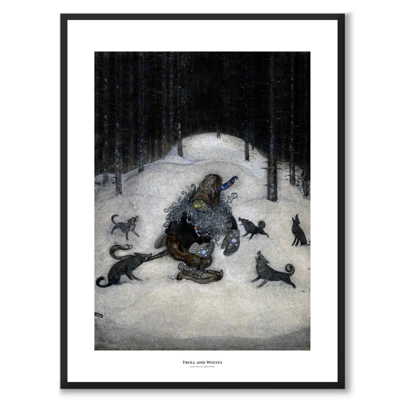 Troll and Wolves