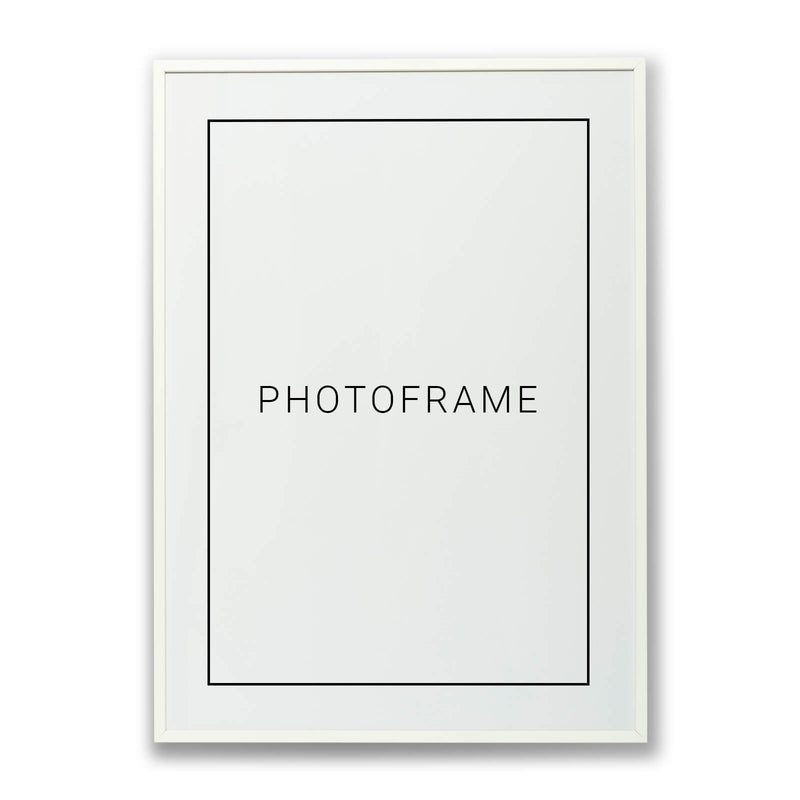 Picture frame - White