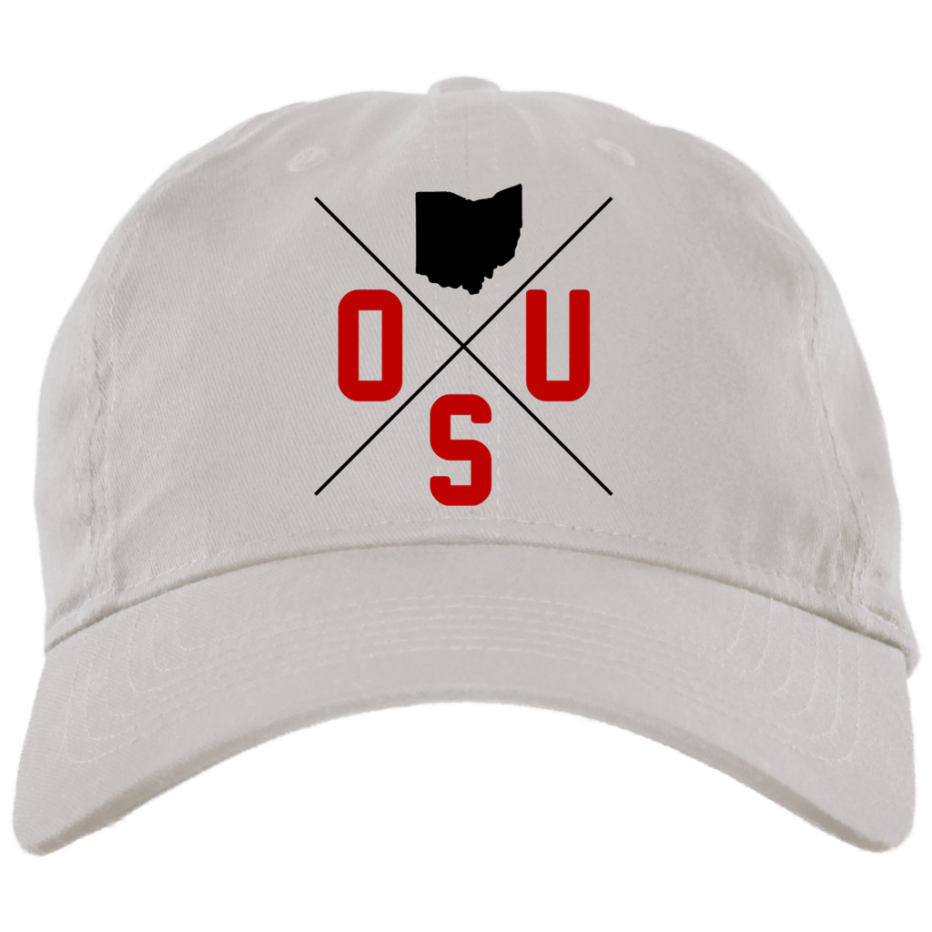 35e21893ca7 OSU Lines - Brushed Twill Unstructured Dad Cap – Ohio Clothing Company