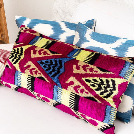 What Makes Ikat Cushions So Popular Today