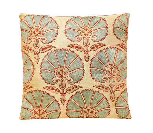 Suzani Annabel Style Embroidered Silk Heritage Cushions