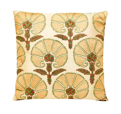 Ottoman Flower Style Double sided Luxury Cushion