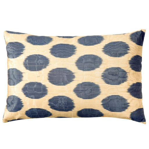 Artemis Dots Double Sided Ikat Cushion - Heritage Geneve