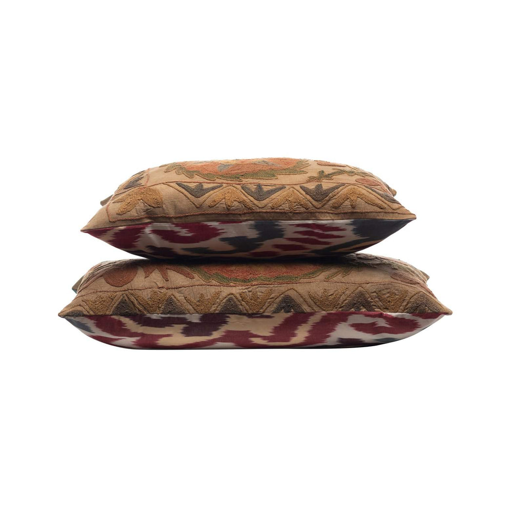 double sided vintage cushions