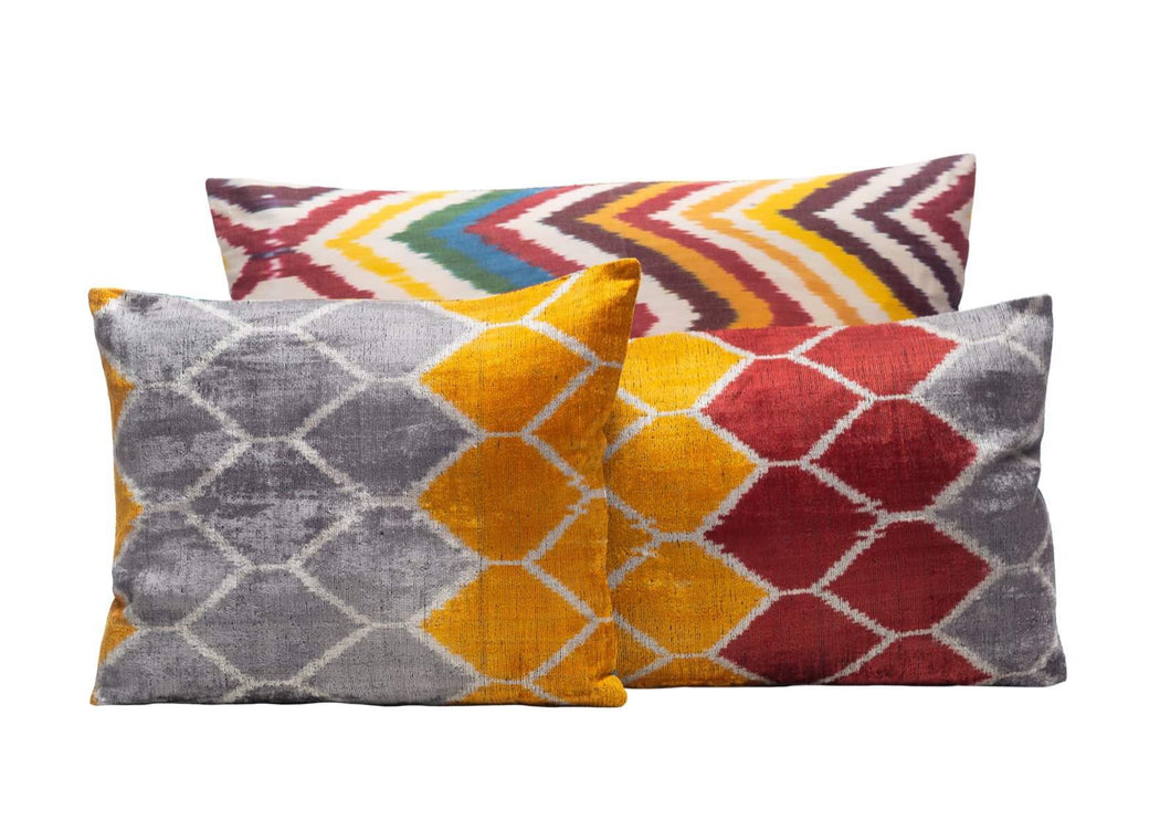colourful styled cushion