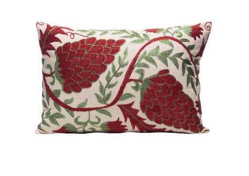 luxurious grape patterned cushion