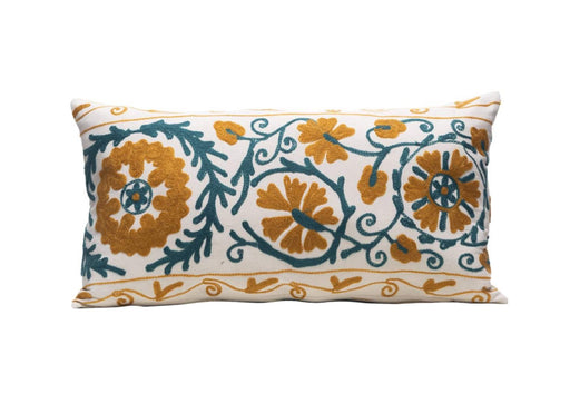 long suzani cushion