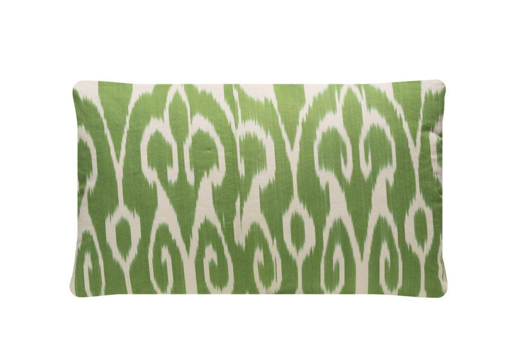 Sage Roots Silk Suzani Cushion Double Sided Ikat