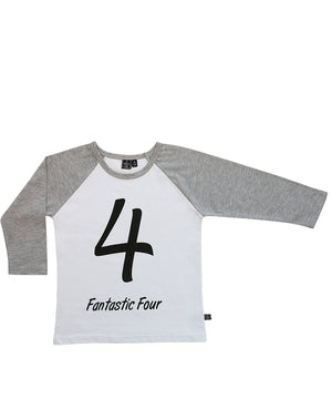 Fantastic Four / Raglan White