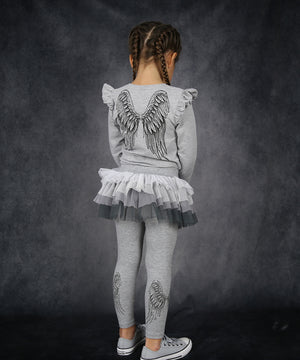 Angel Tutu Leggings