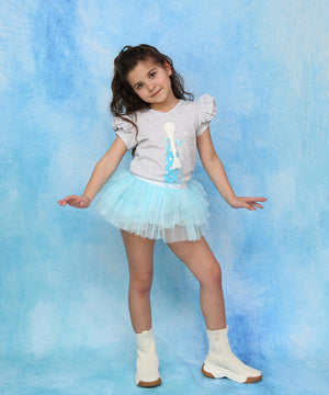 Blue Moon Mini Tutu Leggings