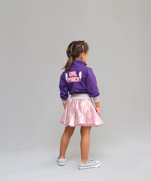 Girl Power Zip Up