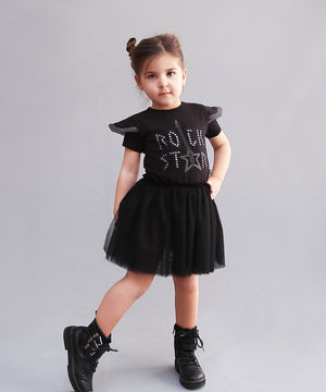 Grunge Rock Star Tutu Dress