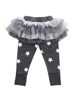 Party Like A Rock Star Tutu Leggings