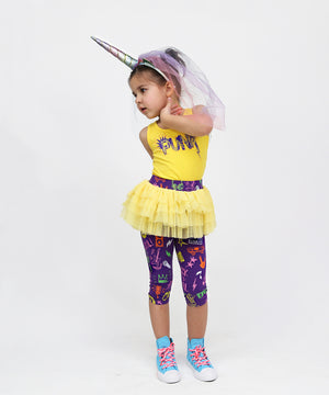 Crazy Little Thing Capri Tutu Leggings