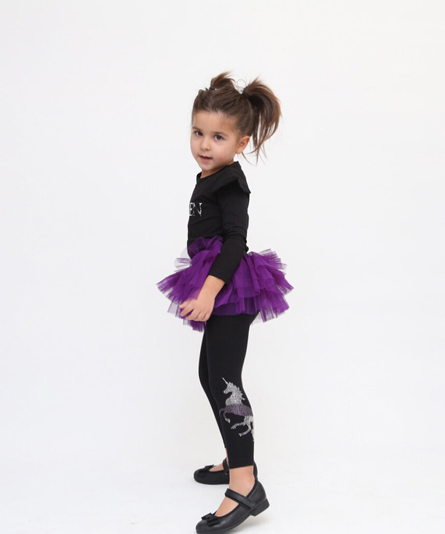 Sparkle Like A Unicorn Tutu Leggings