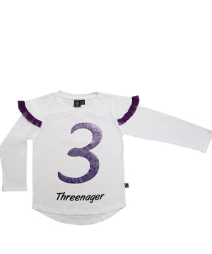 Threenager / Purple Passion