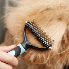 Load image into Gallery viewer, Undercoat Grooming Rake For Dogs