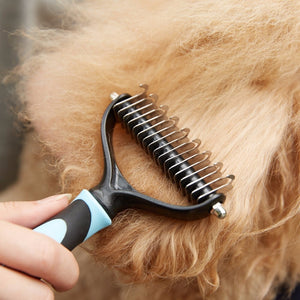 Undercoat Grooming Rake For Dogs