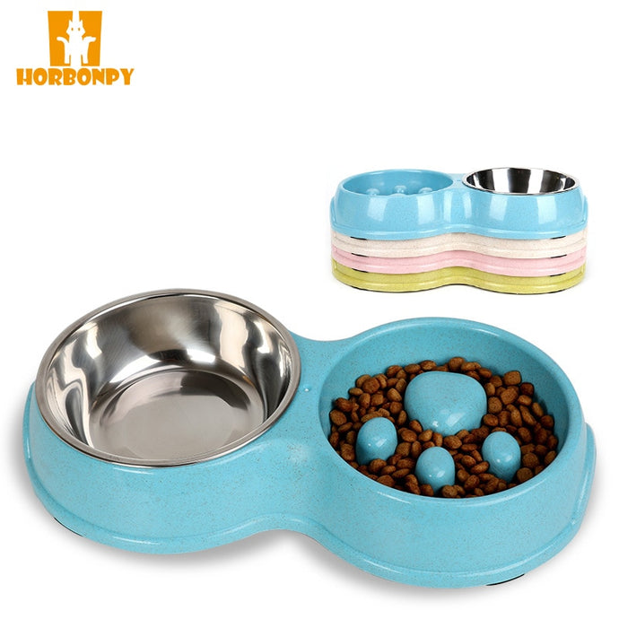 Dog Double Bowls for food water