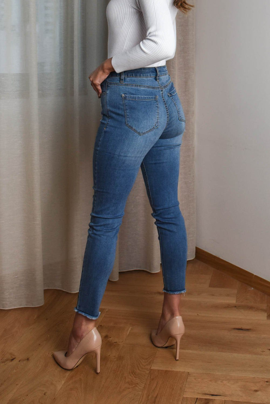 Cassie Jeans Bottoms The Lust Label