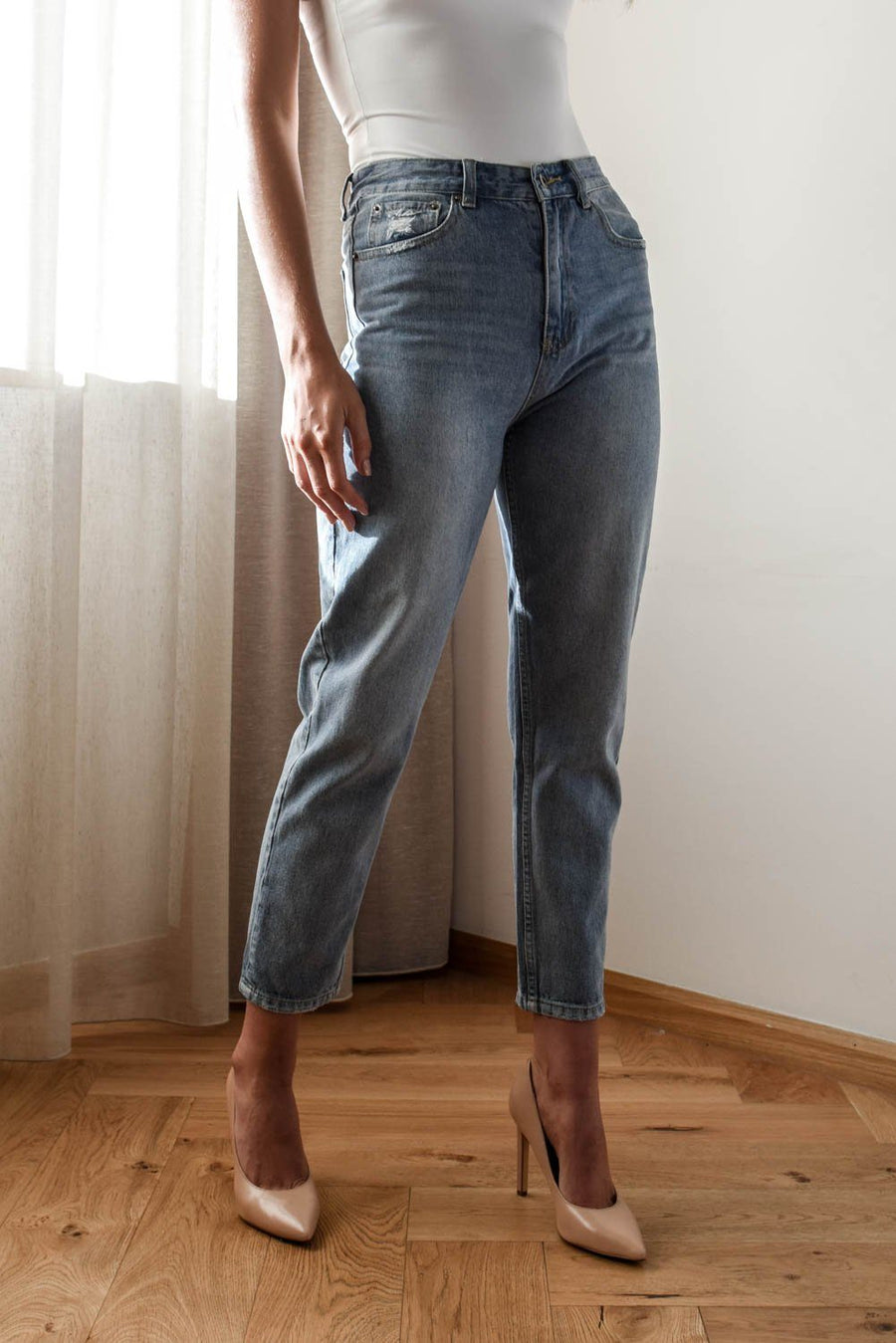 Silvi Denim Wash Jeans Bottoms The Lust Label