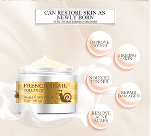 French Snail Anti Wrinkle Moisturizing Collagen Cream