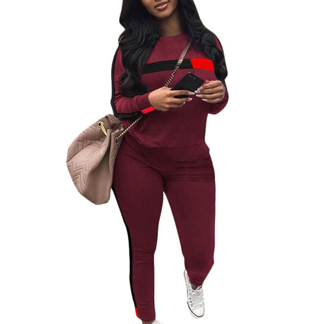 Litthing Sweatshirt + Sweatpants Casual Tracksuit