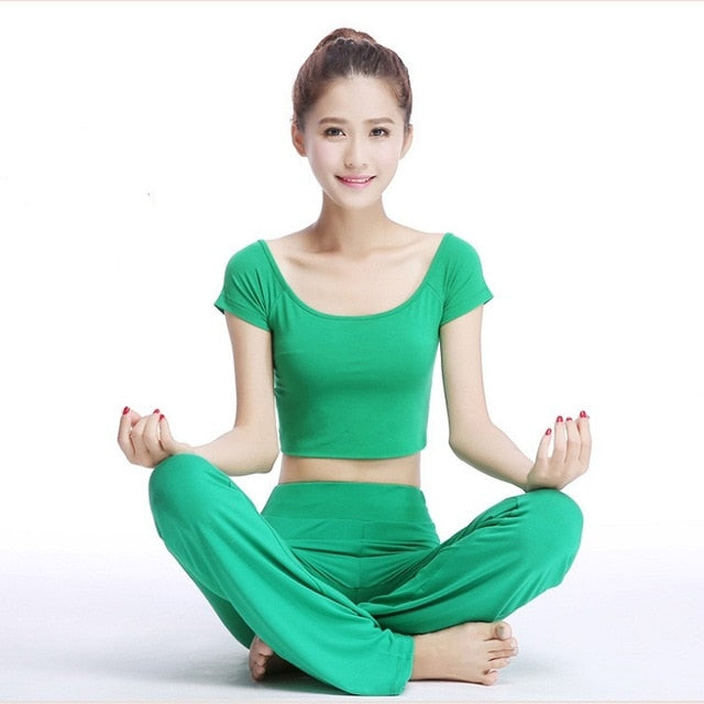Chinese Style Yoga Wear