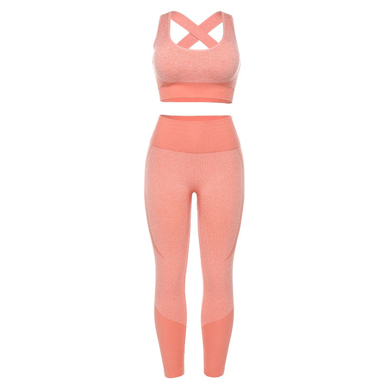 Women's Padded Yoga Set